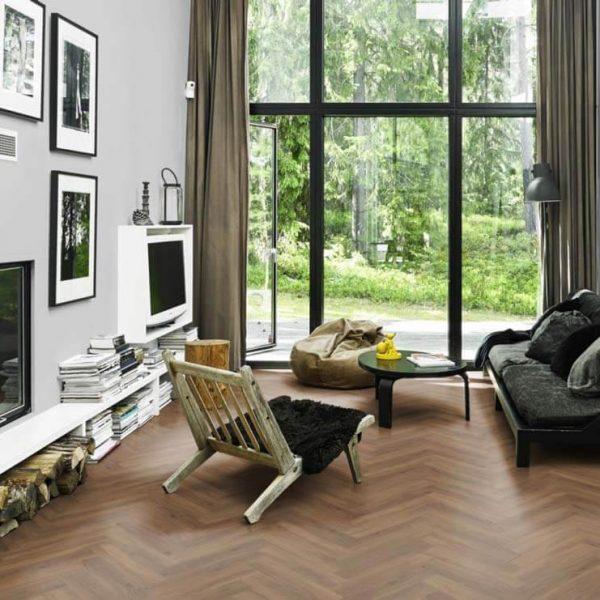 Kahrs Redwood DBW 102 Herringbone Vinyl Flooring