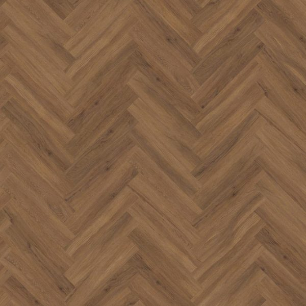 Kahrs Redwood DBW 102 Herringbone Vinyl Flooring - Swatch