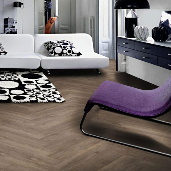Kahrs Saxon Herringbone CHW 120 Click Vinyl Flooring