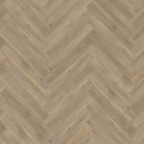 Kahrs Taiga Herringbone CHW 120 Click Vinyl Flooring - Swatch