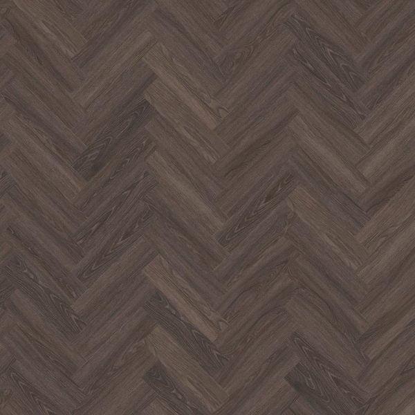 Kahrs Tongass DBW 102 Herringbone Vinyl Flooring - Swatch