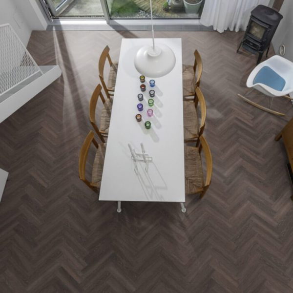 Kahrs Tongass Herringbone CHW 120 Click Vinyl Flooring