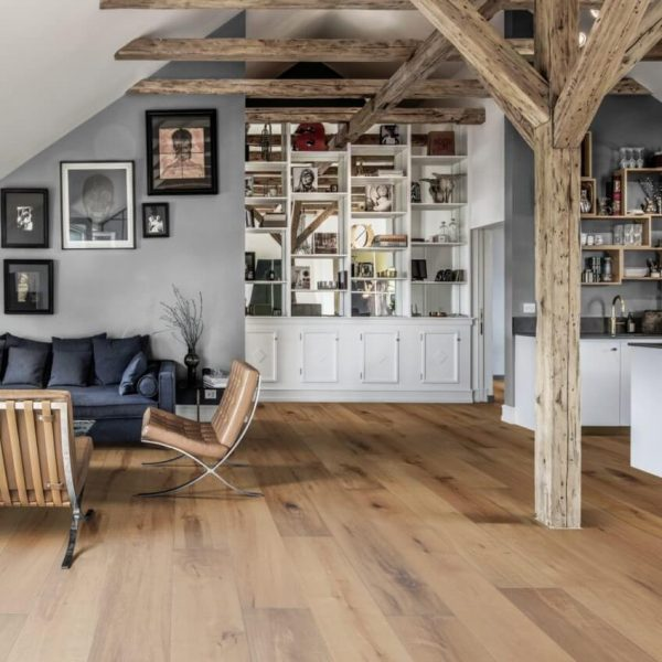 Kahrs Old Town Oak London Matt Lacquer Engineered Wood Flooring