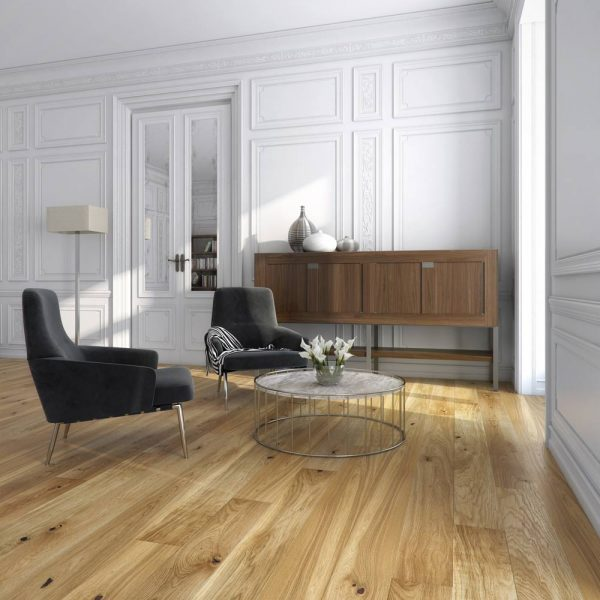 Basix Engineered Classic Oak Natural Oiled BF02 - Room