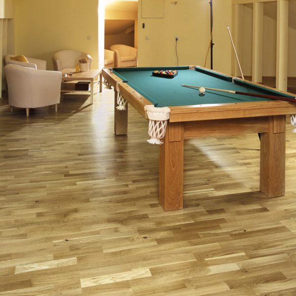 Basix Engineered Classic Rustic Oak 3 Strip BF03 - Room