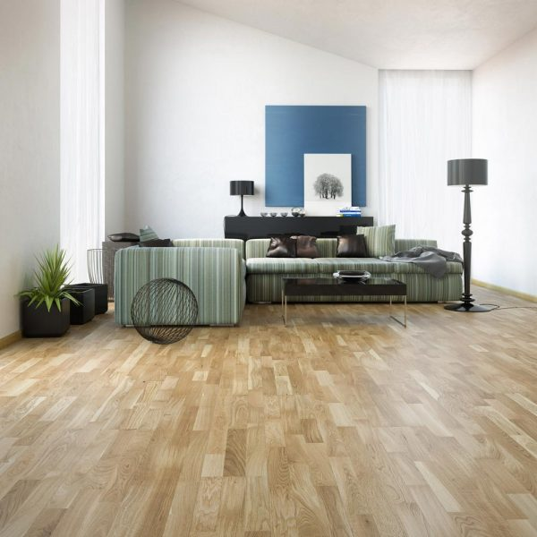 Basix Engineered Classic Oak 3 Strip BF11 - Room