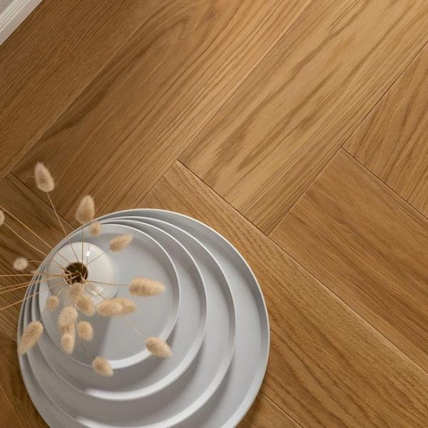 Boen Oak Adagio Brushed Herringbone Click - Room