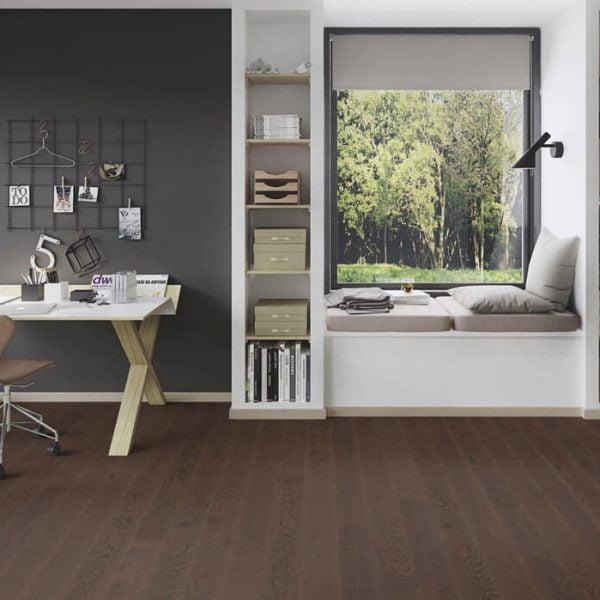 Boen Oak Brazilian Brown 181mm Live Pure - Room 2