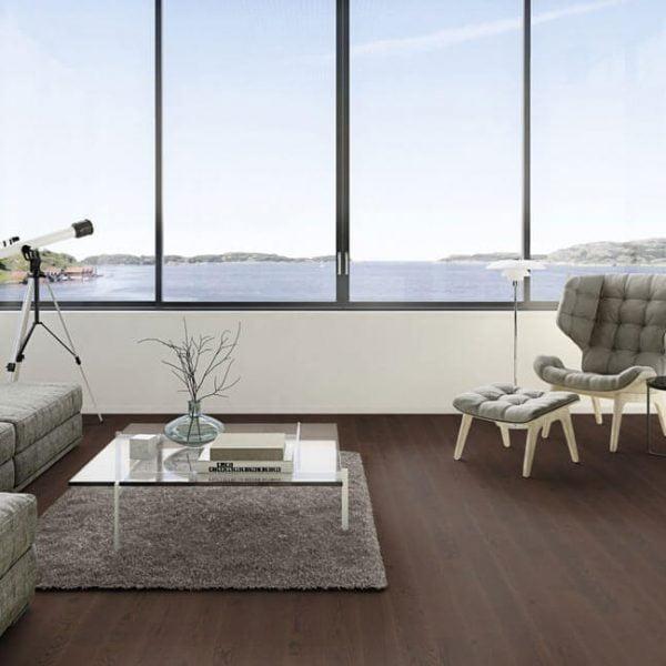 Boen Oak Brazilian Brown 209mm Live Pure - Room