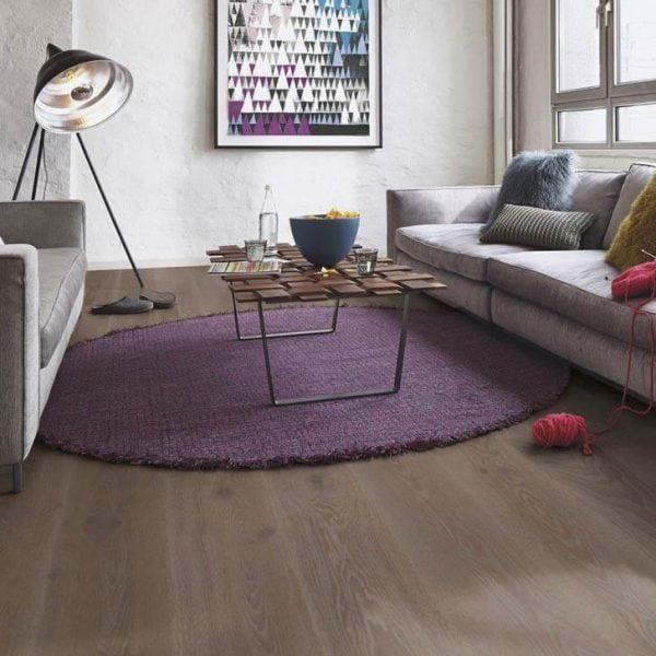 Boen Oak India Grey 138mm Live Pure - Room 2