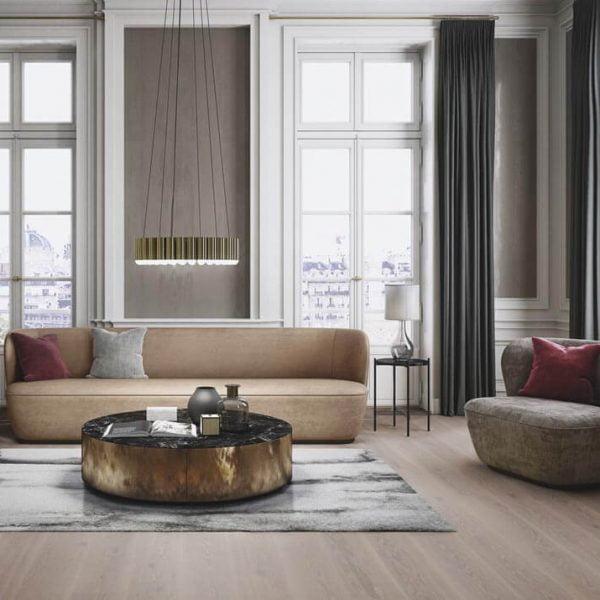 Boen Oak India Grey 181mm Live Pure - Room