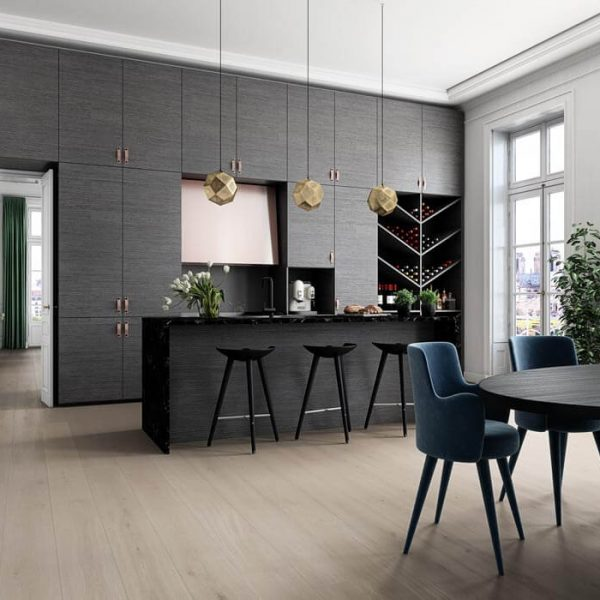 Boen Oak Mild Grey 209mm Live Pure - Room 1