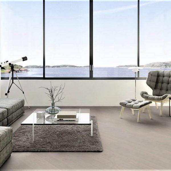Boen Oak Mild Grey 209mm Live Pure - Room 2