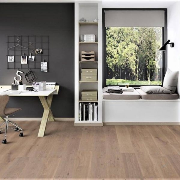 Boen Oak Warm Grey 138mm Live Pure - Room