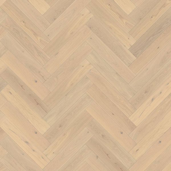 Kahrs Herringbone Oak CD White 111PCDEKFVKE06R