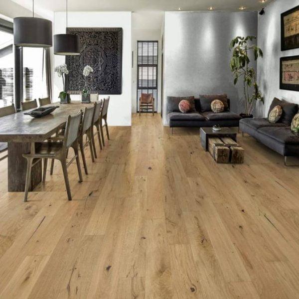 Kahrs Rifugio Oak Auronzo Engineered Wood Flooring - Room
