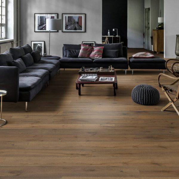 Kahrs Rifugio Oak Branca Engineered Wood Flooring - Room