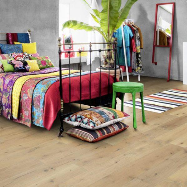 Kahrs Rifugio Oak Comici Engineered Wood Flooring - Room