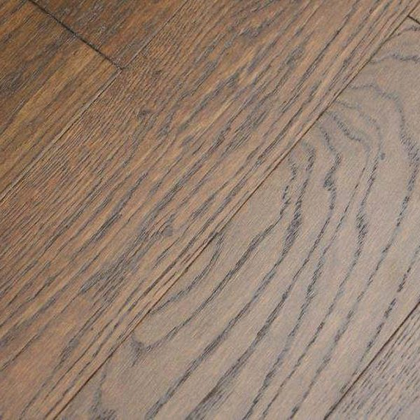 Lushwood Engineered Oak 125mm Smoky Brushed and Lacquered