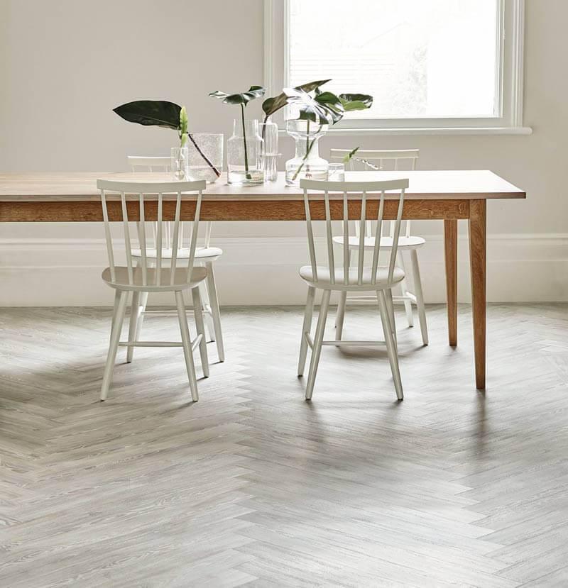 Amtico Spacia White Ash One Stop Flooring, White Ash Laminate Flooring