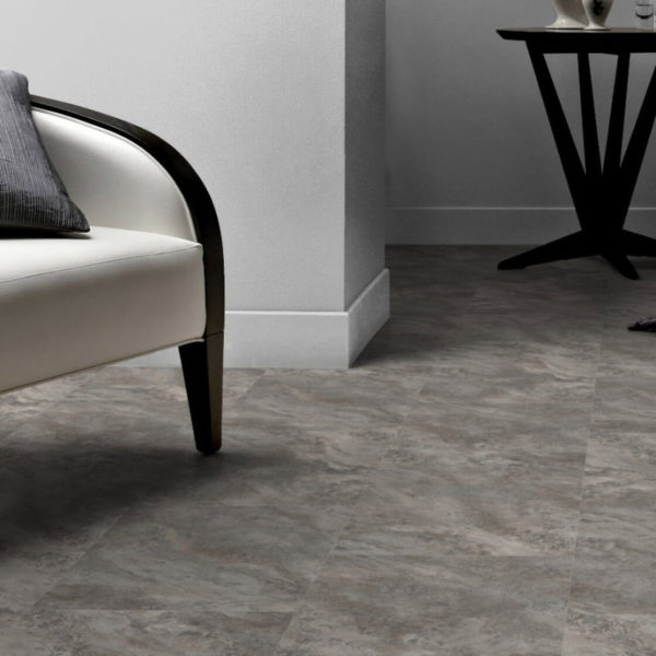 Amtico Spacia Pale Grey Slate