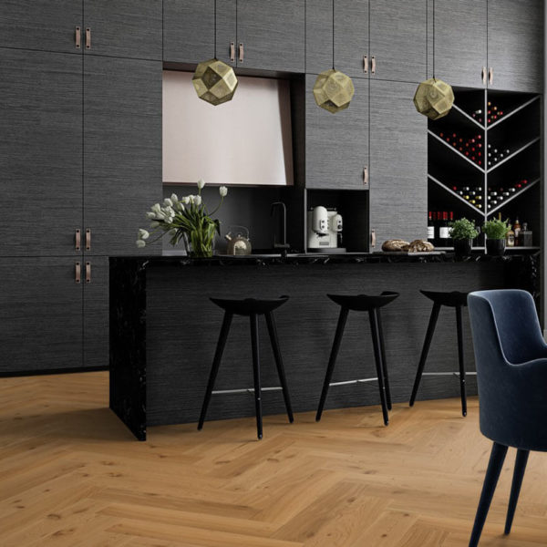 Boen Herringbone Click Oak Animoso Live Natural
